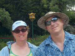Doug n Patti at Disney